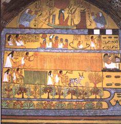 Resultado de imagem para pintura do seculo xiii a. c. listra das pessoas