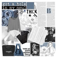 """""""it's not alright"""" by m00nlitsouls ❤ liked on Polyvore featuring Brinkhaus, Monki, BRAX, ASOS, Chanel, Maison Margiela, NLXL and sams15challenge"""