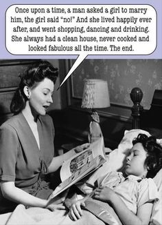 I love having a husband, but this is funny!