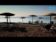 - Golden Beach (Chryssi Ammos) near Agios Georgios in North Evia Homeland, Wind Turbine, Greece, Patio, Island, Videos, Beach, Outdoor Decor, Youtube
