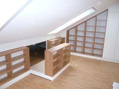 Built-in cupboard – Dachboden House, Built In Cupboards, Home Decor, Cupboard, Loft Spaces, Loft Apartment, Cupboard Design, Renovations, Attic Apartment