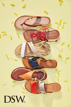 Cute sandals, flip flop sandals, strappy sandals, cute shoes, me too shoes. Cute Sandals, Cute Shoes, Flip Flop Sandals, Me Too Shoes, Shoes Sandals, Strappy Sandals, Vogue, Buy Shoes Online, Shoe Art