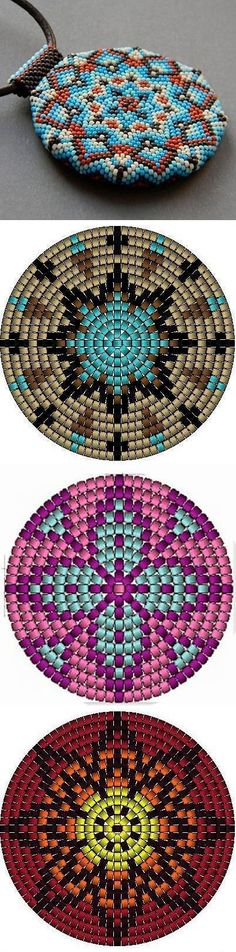 This Pin was discovered by nor Seed Bead Patterns, Beaded Jewelry Patterns, Peyote Patterns, Beading Patterns, Beading Techniques, Beading Tutorials, Native Beadwork, Seed Bead Jewelry, Seed Beads