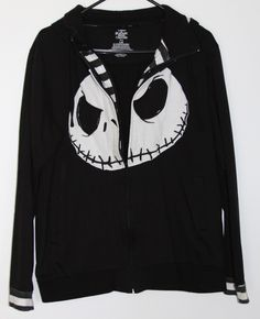 Nightmare Before Christmas Jack Skellington Women's Hoodie By Worn ...