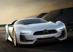 Citroen GT - a style replica from the digital world. The result of a partnership between Citroen and Polyphony, designer of the driving simulation game Gran Turismo 5 Psa Peugeot Citroen, Citroen Car, Citroen Concept, Concept Cars, Concept Auto, Supercars, Volkswagen Tiguan, Porsche, Upcoming Cars