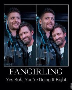 In which Rob Benedict is all of us.