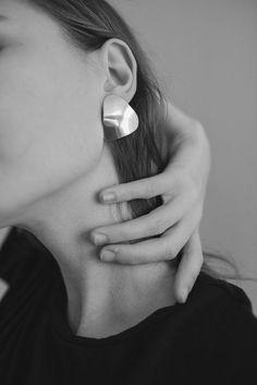 Trine Earrings #SterlingSilverJewellery