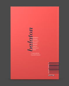 Pristave is a book of modern poetry by the renowned slovenian author Milan Vincetič. The minimalistic, sometimes almost surreal poems portray fragmented stories of life and love. The cover is a semi transparent metaball shape lit with multiple lights a… - Magazine Cover Layout, Magazine Layout Design, Book Design Layout, Book Cover Design, Portfolio Cover Design, Portfolio Book, Minimalist Book, Buch Design, Design Design