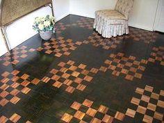 Design floor – ebony and mopane – Music room
