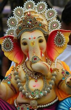 Jai Ganesh, Ganesh Lord, Shree Ganesh, Ganesh Statue, Ganesha Art, Shri Ganesh Images, Ganesha Pictures, Radha Krishna Images, Krishna Radha