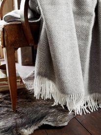 Kattefot Wool Mini Throw
