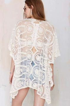 Jen's Pirate Booty Pixie Embroidered Kaftan » So pretty!