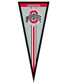Ohio State Buckeyes Pennant Frame