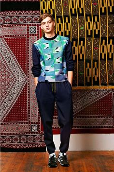 Clashing Tapestry Catalogs - The Trine Lindegaard Spring/Summer 2013 Collection is Pattern-Enriched (GALLERY)