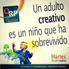 Un #buenmartes para todos los creativos #creative
