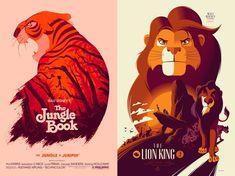 Reinvented Disney Posters by Mondo1 – Fubiz™