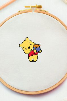 Excited to share this item from my #etsy shop: Winnie the pooh cross stitch pattern Nursery counted cross stitch Announcement newborn xstitch Baby teddy bear needlepoint DIY pdf #crossstitchpattern #easycrossstitchpattern #moderncrossstitchpattern #crossstitchpatternforbeginner #simplecrossstitchpattern #freecrossstitchpattern #modernembroideryscheme #crossstitchscheme #crossstitchchart #crossstitchtext #crossstitchquote #nurserycrossstitch #kidscrossstitch #babycrossstitch #embroiberybear… Baby Teddy Bear, Baby Cross Stitch Patterns, Nursery Patterns, Cross Stitch Quotes, Winnie The Pooh Friends, Modern Embroidery, Needlepoint, Announcement, Pdf