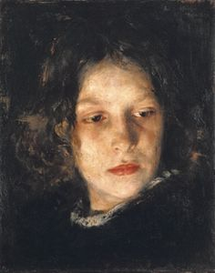 Alois Erdtelt, Head of a Girl by marylou