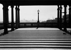 Mirante do Trianon. São Paulo, 1945. Foto: Thomaz Farkas/IMS