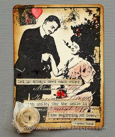 Happy Valentine's Day!! Today we are having a special blog hopon the Sizzix blog where the DT members have useddies from Eileen Hull's  ...