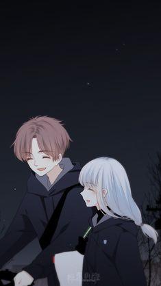 Wallpaper cute anime couple new ideas Anime Couple Love, Anime Love Story, Cute Couple Art, Manga Couple, Anime Couples Manga, Anime Cupples, Kawaii Anime, Anime Guys, Romantic Anime Couples