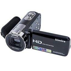 Digital Camera Camcorders Kimire HD Recorder 24 MP Powerful Digital Zoom Video Camcorder Inch LCD Stabilization With 270 Degree Rotation Screen Camera Bag Lithium Battery Camcorder, Gopro, Canon Camera Models, Canon Cameras, Nikon Digital Slr, Digital Cameras, Dslr Photography Tips, Digital Photography, Camera Equipment