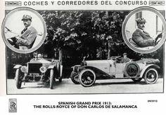Rolls-Royce conmemora su victoria en el primer Gran Premio de España en 1913