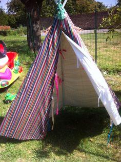 petite tente coton pour fille