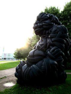 Sweet Home Suburbia Garden Sculpture, Lion Sculpture, Rocky Horror, Helsinki, Banks, Graffiti, Sweet Home, Statue, Outdoor Decor