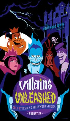 The #Disney Villains are taking over Disney's Hollywood Studios for one night only! Check out Hades, Jafar, Dr Facilier, the Evil Queen and the Queen of Hearts!