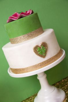St. Patrick's Day Cake!!  Lucky in Love St. Patricks Day Shoot by Autumn Lynn's Chocolate Sins