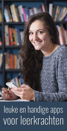 Nice and useful apps for teachers - Onderwijs - New education Co Teaching, Creative Teaching, Multimedia, Teacher Sites, Visible Learning, Apps For Teachers, 21st Century Skills, School Hacks, Diy School