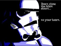 Storm Trooper Valentine's Day Card