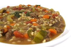 If you love a thick, flavorful, hearty soup, this one's for you!!! Absolutely wonderful, comfort food. I've included directions for cooking this easy, one dish meal either on the stove top …