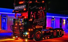 Scania - Black Warrior - Autohof Berg - LKW - Truck - Brummi
