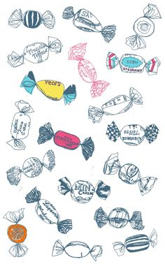 charlotte lucie farmer illustration: pick'n'mix