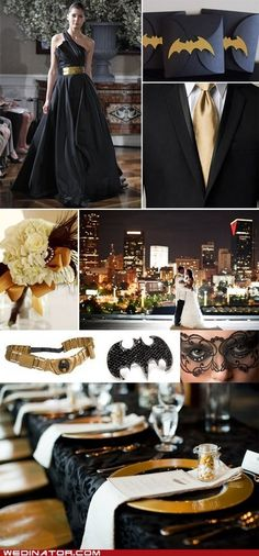 Elegant Batman Wedding - This is awesome, hot damn! i love it, mabye tim and i can agree on a fav super hero?? or i can convice him to love green lantern?! :P