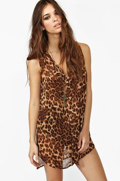I have a thing for leopard print.