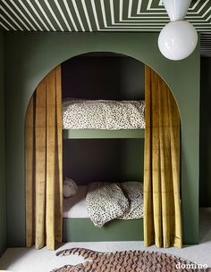 Schlafzimmer Moderne Etagenbetten pro Kind # Bodenbetten # Kinder In Pursuit Of Miller's Lan Design Living Room, Kids Room Design, Kids Bedroom Designs, Bunk Bed Designs, Casa Milano, Modern Bunk Beds, Bedroom Modern, Green Paint Colors, Kids Bunk Beds