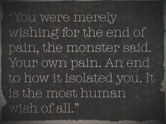 a monster calls quotes - Google Search | Great Quotes | Pinterest ...