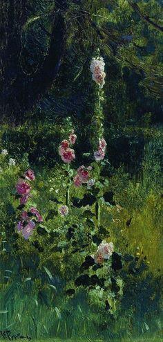 Ilya Repin (Russian, 1844-1930). Mallow.   1880.