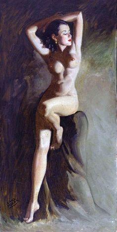 femme nue pin up sexy dessin photo de nu anatomie