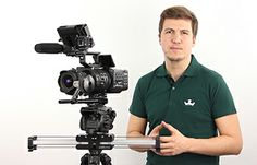 Ultra smooth and magically portable camera slider for video professionals and its revolutionary motion control add-ons. Motorize it with Slide Module and achieve perfectly stable slides or easily program motion time-lapse videos. Photography Equipment, Filmmaking, Compact, Technology, Self, Cinema, Tech, Tecnologia
