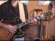 How To Play The Ted Nugent Stranglehold Riff - YouTube