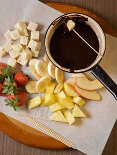 """This recipe is the winner of our """"Uncover the Flavors"""" recipe contest, sponsored by Kahlua, and comes from Noelle Bothe of Uniontown, Ohio, who serves this fondue with fresh-cut fruit, marshmallows, and brownies and as a sauce for ice cream."""