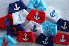 Nautical Baby Shower Game; Dirty Diaper Nautical Anchors; Unisex baby shower fun…