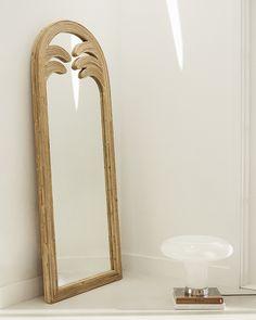 Gabriella mirror - full - a r c h i t e c t u r e - Design Rattan Furniture Home Design, Decor Interior Design, Interior Decorating, Design Ideas, Decorating Games, Furniture Design, Design Inspiration, Cheap Home Decor, Diy Home Decor