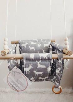 Baby swing toddler swing indoor swing outdoor swing - Apocalypse Now And Then Cool Swings, Baby Shower Gifts, Baby Gifts, Indoor Swing, Indoor Outdoor, Animal Nursery, Nursery Boy, Nursery Ideas, Crochet Flowers