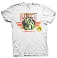 Boba Fett And The Bounty Hunters T-Shirt (White)