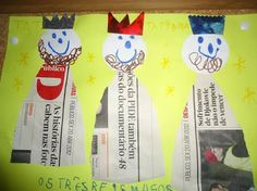 Sempre criança: Dia de Reis Christmas Nativity, Christmas Crafts For Kids, Kids Christmas, Merry Christmas, Christmas Ornaments, Epiphany, Kindergarten, Advent, Holiday Decor